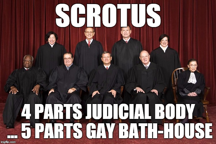 4 Parts Judicial Body ... 5 Parts Gay Bath House
